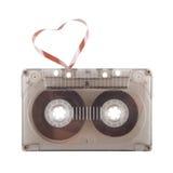 luftar retro ljud för hjärtamusik arkivfoto