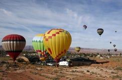 luftarizona ballonger Arkivbilder