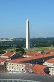 Luftaufnahme über Washington DC Stockfotografie