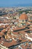 Luftaufnahme der Haube von Duomo lizenzfreies stockfoto