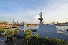 RSS furchtlos an Marine-offenem Haus 2013 lizenzfreies stockbild
