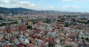 Luftaufnahme der Stadt stock footage