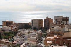 Luftaufnahme der Stadt lizenzfreies stockbild