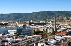 Luftaufnahme der Stadt von Cordoba Lizenzfreies Stockfoto