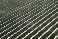 Luftaufnahme des Gewächshauses Lizenzfreies Stockbild