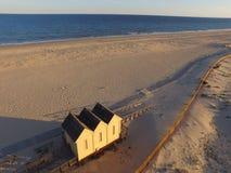 Luftaufnahme des Strandes Lizenzfreie Stockfotografie