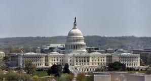 Luftaufnahme des US-Kapitols Stockbild