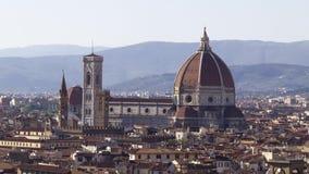 Luftaufnahme Florenz stock footage