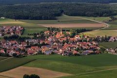 Luftaufnahme/flygbild Arkivbilder
