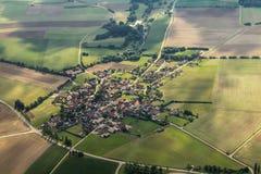Luftaufnahme/flygbild Arkivfoton