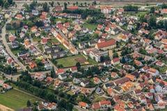 Luftaufnahme/Luftfoto Lizenzfreies Stockbild
