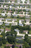 Luftaufnahme-Nachbarschafts-Häuser, Häuser, Wohnsitze Lizenzfreie Stockfotos