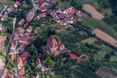 Luftaufnahme, powietrzna fotografia/ Zdjęcie Royalty Free