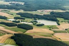 Luftaufnahme, powietrzna fotografia/ Obraz Stock