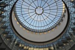 Luftaufnahme Schirn Frankfurt Lizenzfreie Stockfotos