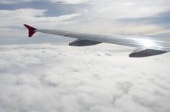 Luftaufnahme vom Flugzeug Stockfotos