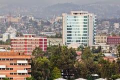 Luftaufnahme von Addis Abeba Lizenzfreie Stockbilder