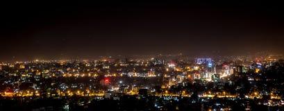 Luftaufnahme von Addis Abeba Stockfoto