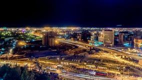 Luftaufnahme von Addis Abeba Stockbild