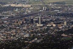 Luftaufnahme von Amarillo, Texas lizenzfreie stockfotografie