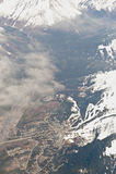 Luftaufnahme von Anchorage Lizenzfreie Stockfotografie