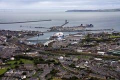 Luftaufnahme von Anglesey Lizenzfreie Stockfotos