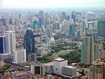 Luftaufnahme von Bangkok Stockbilder