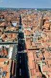 Luftaufnahme von Bologna, Italien lizenzfreies stockfoto