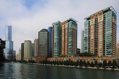 Luftaufnahme von Chicago, Illinois Lizenzfreie Stockfotografie
