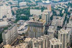 Luftaufnahme von Kiew lizenzfreie stockbilder