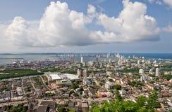 Luftaufnahme von Kolumbien stockfoto