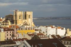 Luftaufnahme von Lissabon stockfotografie