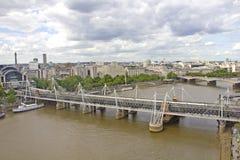 Luftaufnahme von London Stockbild