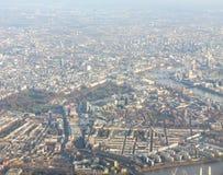 Luftaufnahme von London Stockbilder