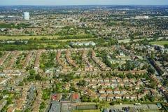 Luftaufnahme von London Stockfotos