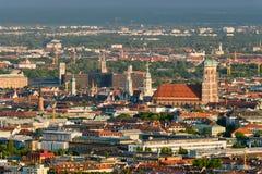 Luftaufnahme von München München, Bayern, Deutschland lizenzfreies stockfoto
