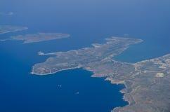 Luftaufnahme von Malta Lizenzfreie Stockbilder