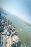Luftaufnahme von Manhattan Stockfoto