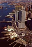 Luftaufnahme von Manhattan Lizenzfreies Stockfoto