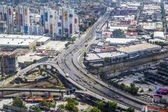 Luftaufnahme von Mexiko City Lizenzfreies Stockfoto