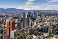 Luftaufnahme von Mexiko City Stockfoto