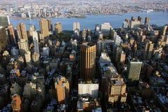 Luftaufnahme von New York lizenzfreies stockbild