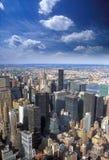 Luftaufnahme von NYC Stockfoto