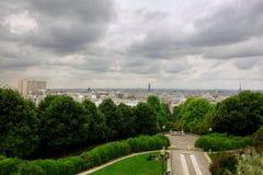 Luftaufnahme von Paris, Frankreich lizenzfreie stockbilder