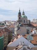 Luftaufnahme von Prag Lizenzfreie Stockfotos