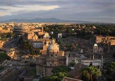 Luftaufnahme von Rom Lizenzfreies Stockfoto