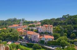 Luftaufnahme von Sintra Stockbilder