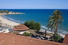 Luftaufnahme von Tarragona Stockbild