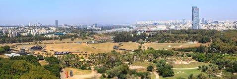 Luftaufnahme von Tel Aviv Stockbilder