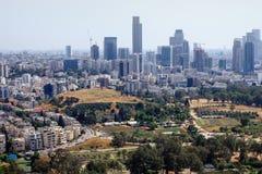Luftaufnahme von Tel Aviv Stockfoto